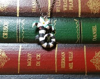 Beetlejuice Sandworm Pendant