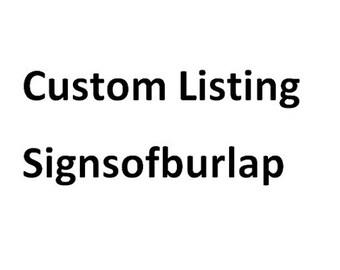 Custom print order