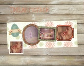 Easter timeline - Template for photographers ,Facebook timeline cover template photo,Easter day timeline
