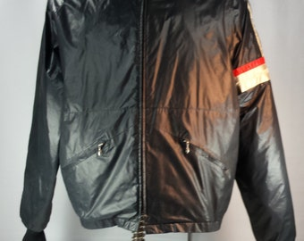 Vintage 70's HondaLine Men's Motorcycle Racing Jacket Zip-Out Liner USA Size XL
