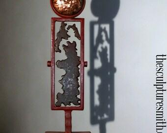 Metal Sculpture-Abstract Sculpture-Metal Art-Indoor Sculpture