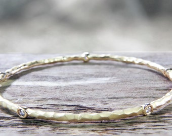 Orbit Diamond Bangle (Air Collection)