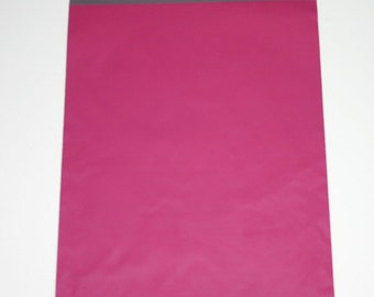 100 10x13 Poly Mailers Raspberry  Self Sealing Envelopes Valentine Spring