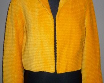 Vintage 1970's Cropped Jacket 8 - 10