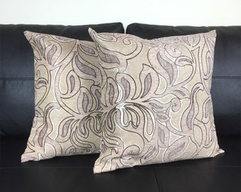 Decorative Pillows. Set Of  2. Throw Pillows. 18x18 Accent Pillow. Sofa Pillow. Home Decor. Living Room Decor. Gift Set.