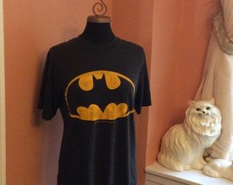 Vintage 80s Batman T-Shirt (A265)