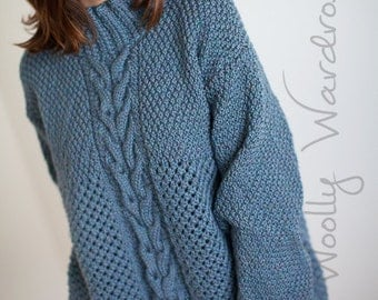 KNITTING PATTERN - Gosford Sweater