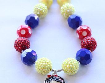 Snow White Bubblegum Necklace