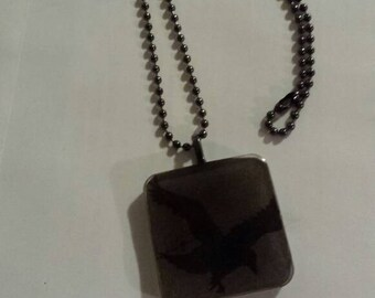 Rare one of a kind Nevermore; ball chain necklace.