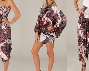 Pants 3 in 1, fashion, boho, hippie, Afghan, monkey trousers