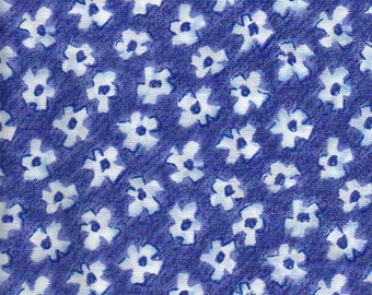 California Dreamin' -  BTY - Moda -Purple with White Flowers
