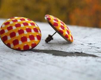 SOLD Do not buy - African Kente Print Earrings