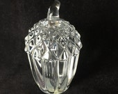 Shannon Crystal Acorn Paperweight
