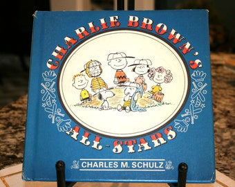 1966 Charlie Brown's All-Stars//FIRST EDITION//Published By United Features Syndicate, Inc.//Vintage Children's Book