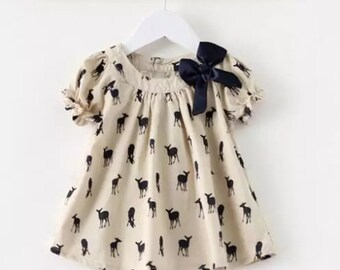 Little deer dress/tunic