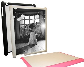 Personalized iPad Case - Plastic w/ Metal Sublimation Insert
