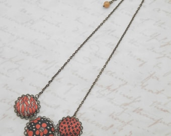 Liberty Necklace Red