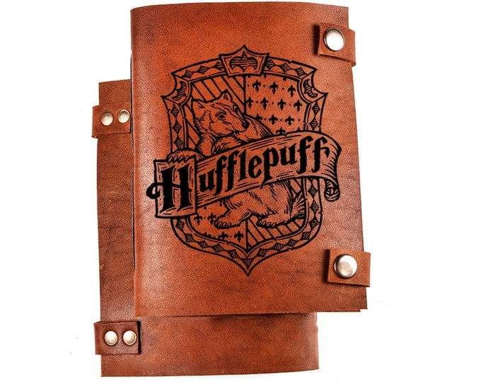 Hufflepuff journal - Harry Potter journal - Hufflepuff notebook - harry potter notebook - hufflepuff merch - hufflepuff house