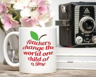 Teacher Cup, Teacher Gift, Daycare Provider Gift, Teacher Name Mug, Teacher Appreciation Day, Best Teacher Mug, Teacher Mug, Teacher Coffee