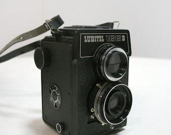 Lubitel 166B Lomo Twin Lens Medium Format Film Camera - Soviet Union Russian Lomography USSR 6x6 Square Film TLR Vintage Retro Photography