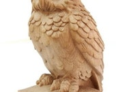 Owl - High Quality Hand-carved Top for Newel Stair Carved Wood Oak Corbels Decor Front Pillar Cottage Chic Style Animals