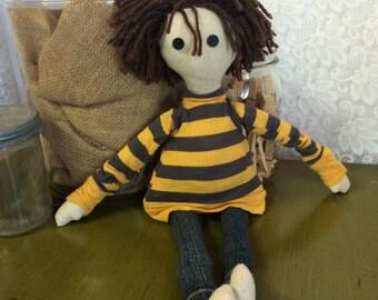 The Little Boy cloth doll