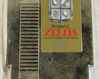The Legend of Zelda (Original Nintendo) NES CLEANED/TESTED!