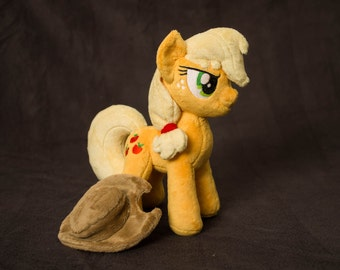 Plush Applejack Custom Pony 10 inches MLP:FIM