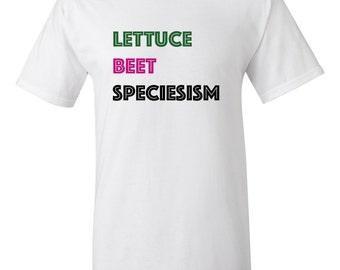 Vegan speciesism t-shirt
