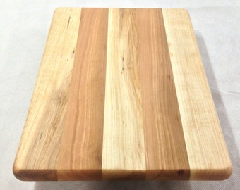 Maple and Cherry Cutting Board