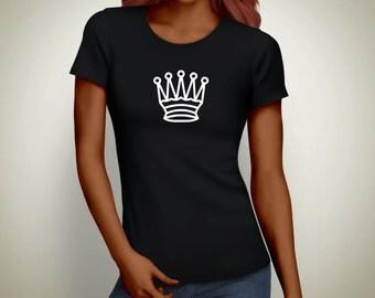 Queen Shirt, chess shirt, chess gift, womens tshirt smart shirt - 54