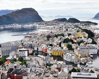 Alesund, Norway Photography Print