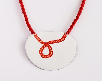 Maritim red necklace