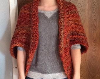 Women's Crochet Cardigan Shrug Sweater