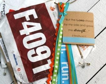 Bib Holder Race Bib Display Runner Gift Half Marathon Gift Race Number Display Running Number Holder I Can Do All Things Philippians 4:13