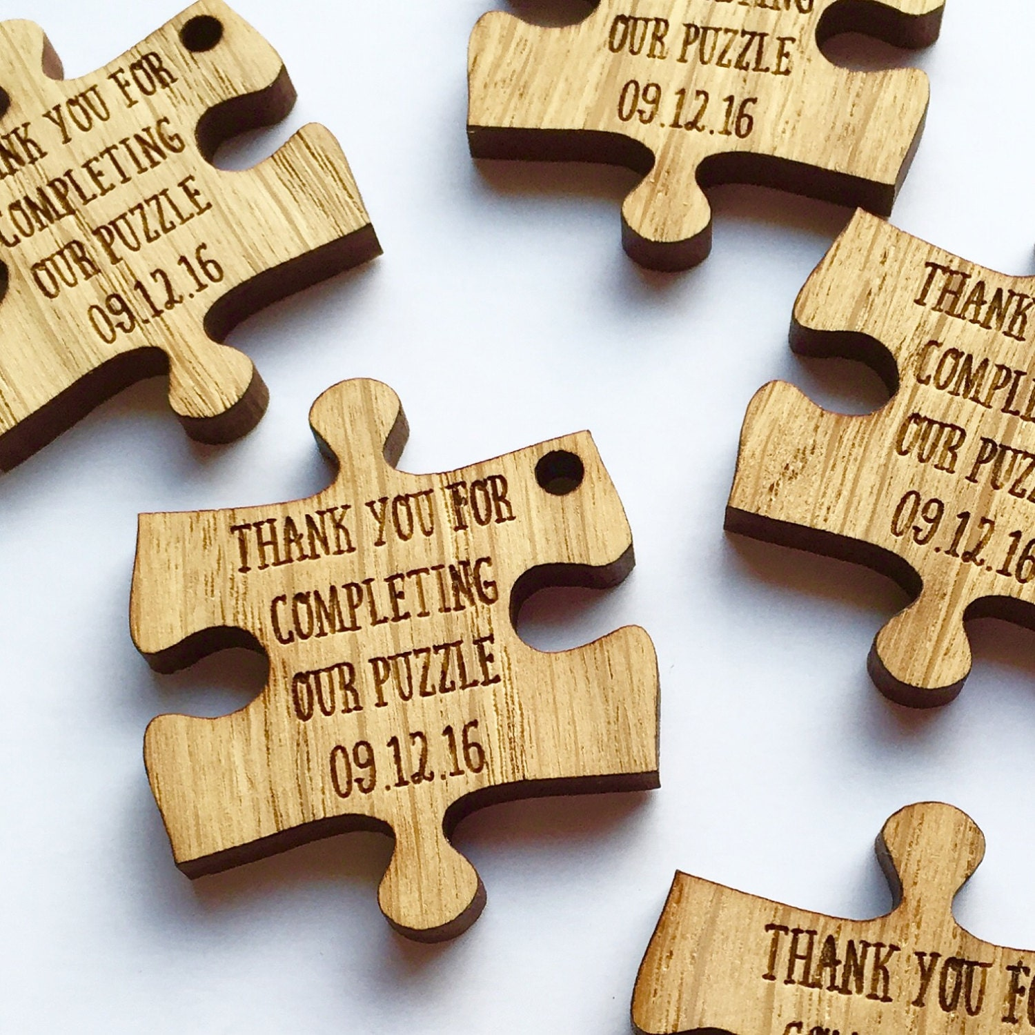 custom wedding favors puzzle favors puzzle piece favors