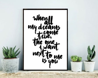 One Tree Hill Quote, OTH, One Tree hill print
