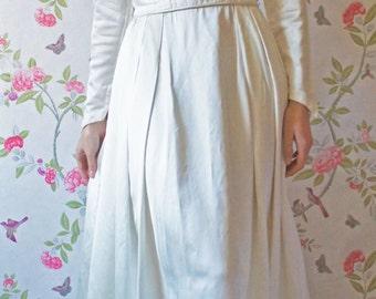 Olympia 1960s vintage wedding dress