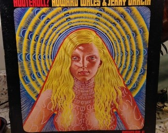 """Sale- Howard Wales and Jerry Garcia vintage vinyl record- """"Hooteroll"""" 33 rpm 12"""" vinyl psychedelic rock"""", classic rock albums, psychedelic"""