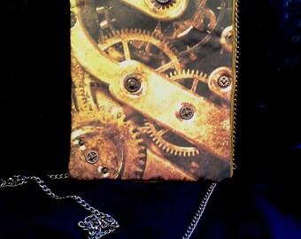 Copper Gears Handbag