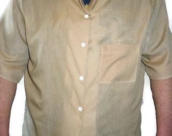 Bespoke Men's Button Down Oxford Shirt  Custom Handmade  Made to Order