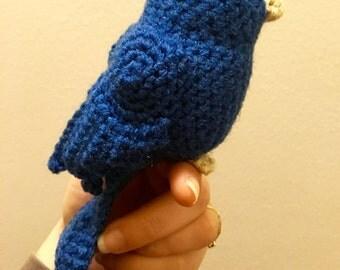 Little Song Bird - Handmade Crochet Bird Toy