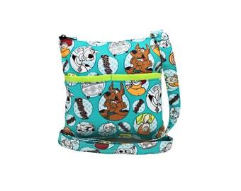 Scooby Doo Crossbody Bag // Sling Bag // Crossbody Purse // Shoulder Bag // Hipster