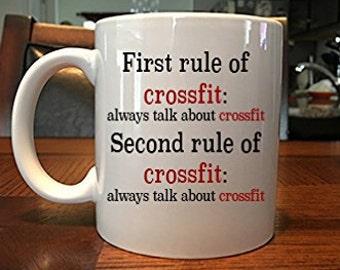 Funny Rules of Crossfit Coffee Coffee Mug