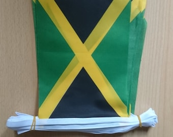 Jamaican flag bunting