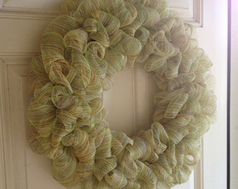 Wire Mesh Wreath - Large