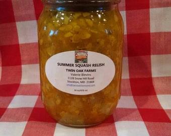 Summer Squash Relish