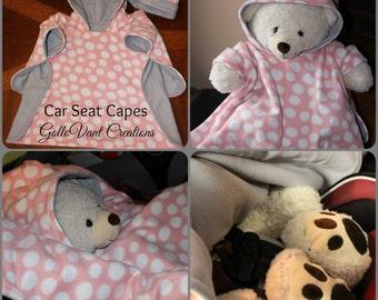 Custom Car Seat Cape Poncho