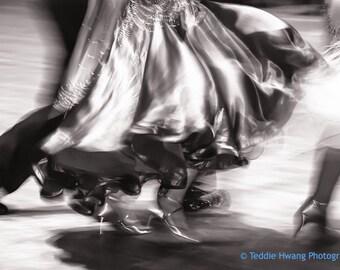 Dancing Couple Black and White Photography, Dance Photography, Ballroom Dancing