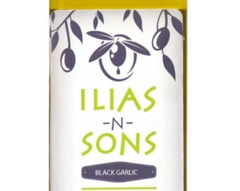 Black Garlic Infused Organic Extra Virgin Olive Oil